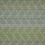 englisch dekor Gardinenstoff Streifenmuster grün Store