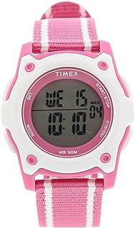 Girl's Time Machines TW7C26200 Pink Suede Japanese Quartz...