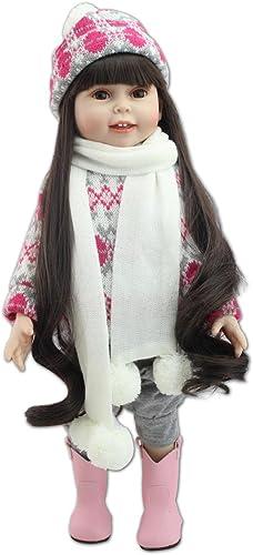 Secretcastle bébé comme une véritable Corps souple réaliste bébé fille poupée, 45,7cm mignon nouveau-né Toddler poupée