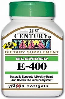 Sponsored Ad - 21st Century E 400 I.U. Blended Softgels, 110-Count