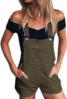 86e2f694c24902 Amazon.fr : Salopette Short Femme - XL / Femme : Vêtements