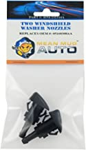 Mean Mug Auto 4154-232314A (Two) Front Windshield Washer Nozzles - For: Dodge Caliber - Replaces OEM #: 05160308AA