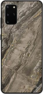 For Samsung S20 Plus Case Cover Brown Marble Pattern