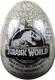 Cardinal Games Jurassic World 46-Piece Mystery Puzzle in Egg Packaging
