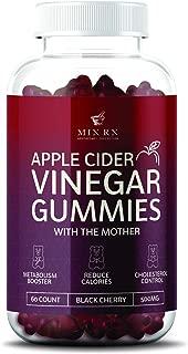 Premium Organic Apple Cider Vinegar Gummies with The Mother for Energy, Diet Control, Fat Burner - Gummy Alternative to Apple Cider Vinegar Capsules, Pills, ACV Tablets - Detox, Cleanse