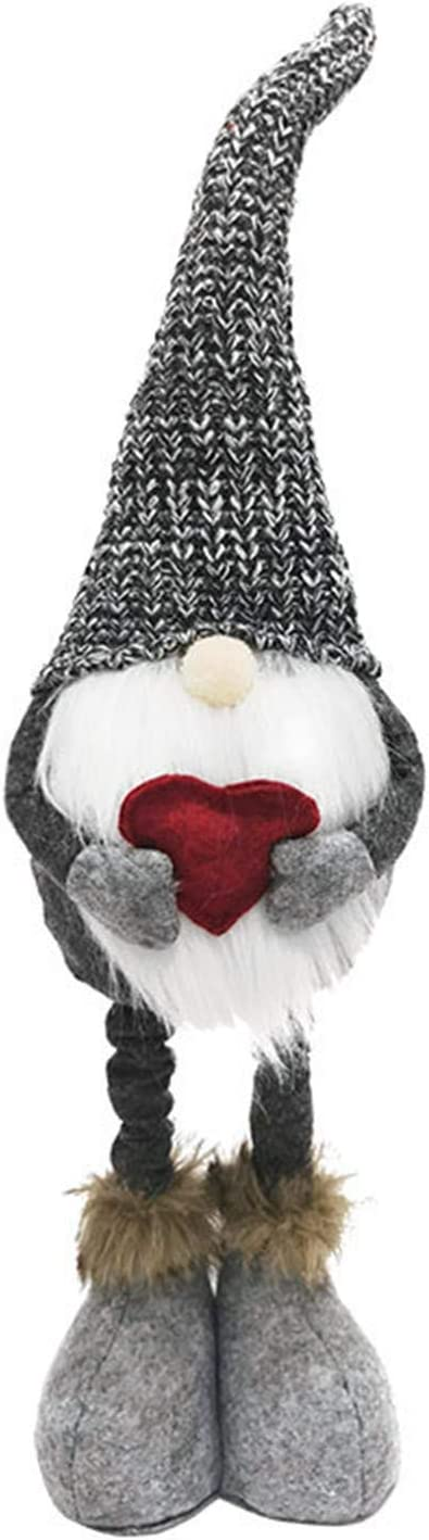 Taktom Valentine's Day Decorations Red Gray Ret Recommended Knitted and Recommended Love