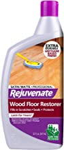Rejuvenate Professional Wood Floor Restorer and Polish with Durable Finish Non-Toxic Easy Mop On Application Satin Finish ...