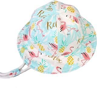 LLmoway طفل طفل واقية من الشمس قبعة دلو القطن للبنين بنات 6M-8T