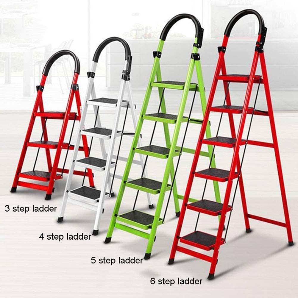 5 Colors,Customizable ALGFree Folding Ladder Protective Cover Outdoor Furniture Dust Waterproof Sun Protection Cover Home Storage Sets Color : Red, Size : 50x124x6.5cm