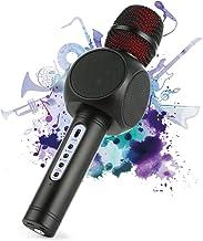 Wireless Bluetooth Karaoke Microphone, Fede 3-in-1 Portable Karaoke System with Two..