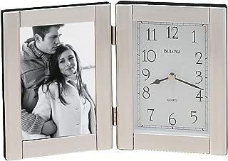 Best bulova picture frame clock Reviews