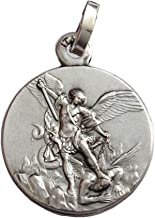 Medalla de San Miguel Arcángel en Plata de Ley 925