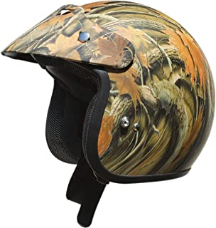 AFX FX-75 Youth Open Face Motorcycle Helmet Camo Small 0105-0017