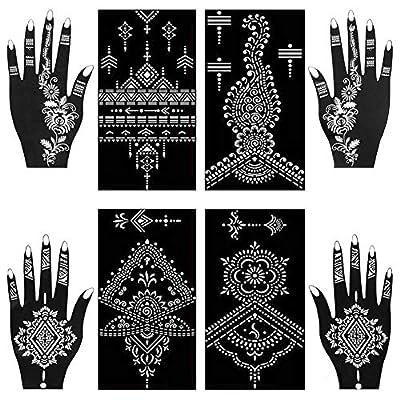 Henna Tattoo Stencils Kit