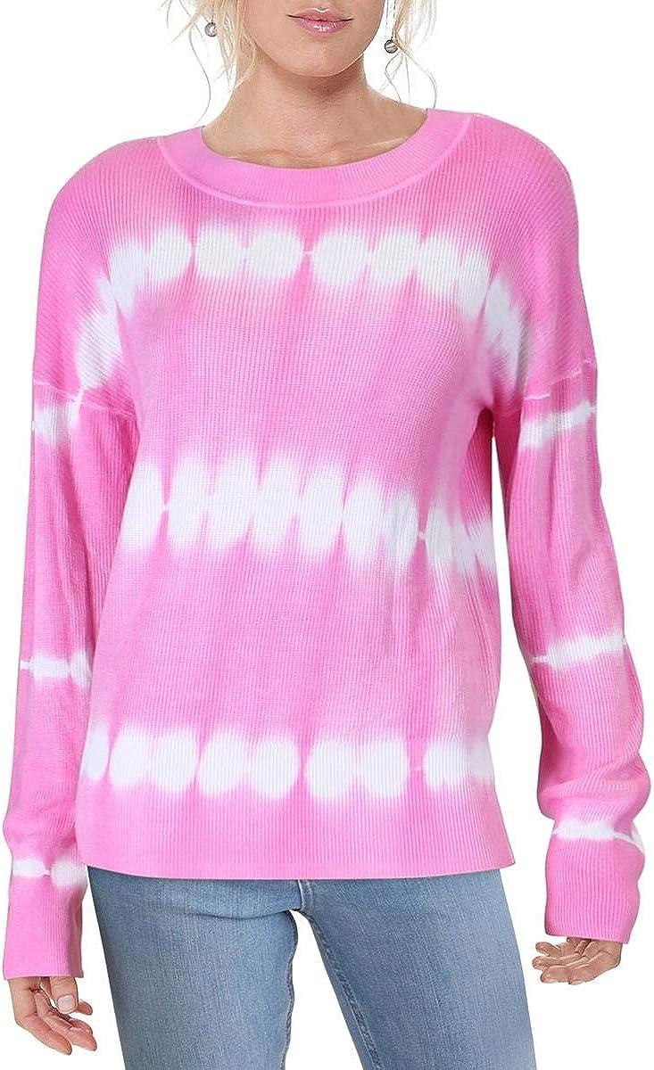 Jak & Rae Womens Knit Tie-Dye Sweater