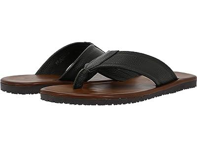 Massimo Matteo Adria Leather Thong