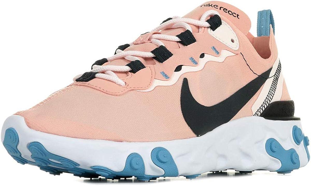 送料無料新品 Nike Womens React 春の新作シューズ満載 Element 55 Shoess Casual Running Bq2728- Women
