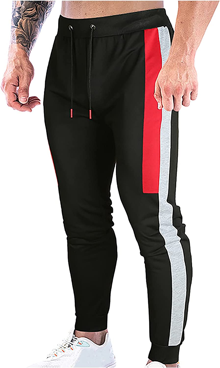 Men's Gym Sweatpants Drawstring Slim low-pricing Runnin Fit Fitness Factory outlet Exercise