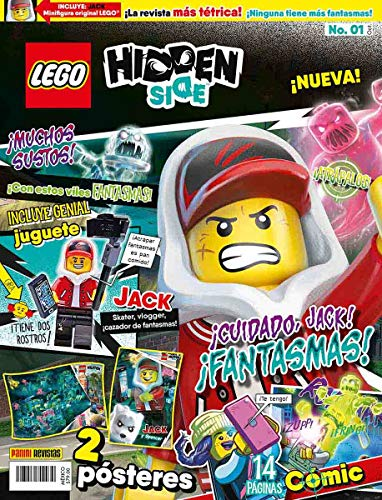 LEGO Hidden Side N.1 ¡Cuidado, Jack! ¡Fantasmas!