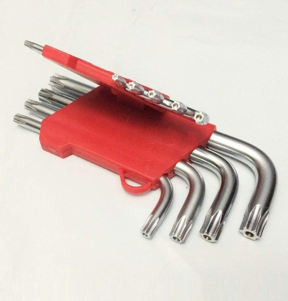 New 9pc Torx Star Tamper Soldering Proof L Key Bit Set Wrench Security Hex Dallas Mall