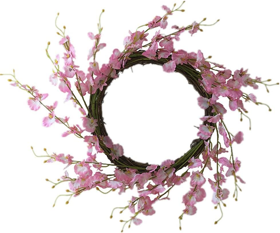 Super popular specialty store Jgrace Artificial Superior Wreath Phalaenopsis Rattan Simulation Ring Win