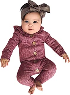 Sameno Baby Girls Kids Thanksgiving Cartoon Turkey Embroidered Long Sleeve Dress Pants Hair Strap Set