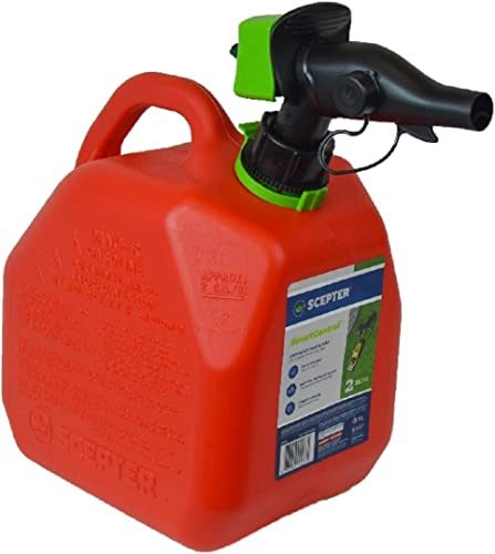 new arrival Scepter FR1G201 SmartControl Gas sale Can, lowest 2 Gallon, Red sale