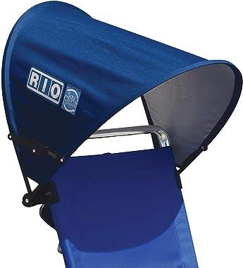 Rio Brands MyCanopy Beach Chair Accessory One Size Blue