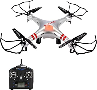 Geekper H2O RC Drone 2.4G 4CH 6-Axis Gyro Outdoor RC Nano Quadcopter with Headless Mode and 3D Eversion Drones for Kids