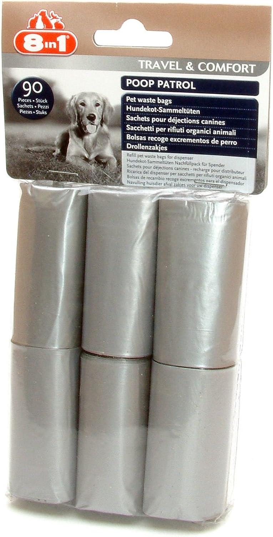 8in1 Poop Patrol Refill Rolls 6pk (Pack of 12)