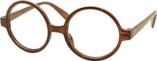 FancyG Retro Geek Nerd Style Round Shape Glass Frame NO LENSES