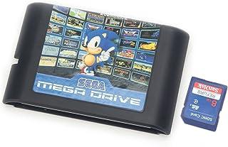 Lelinta 820en 1Cartouche de Jeu 16Bits Carte de Jeu pour Console Sega Mega Drive Genesis