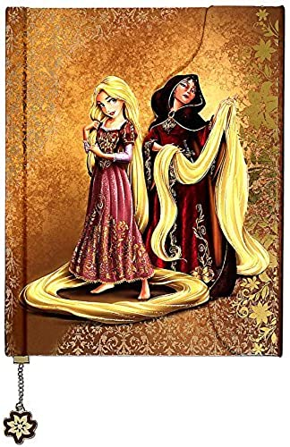 Disney Tangled Disney Fairytale Designer Collection Rapunzel and Mother Gothel Fairytale Journal by Disney