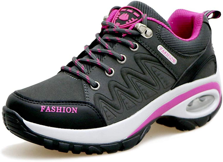 Giles Jones Women's Trekking shoes Height Increase Comfort Anti-Slip Walking Hiking shoes