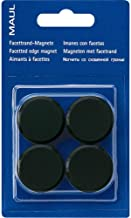 Maul 6175202 Facetterand Magnet pro SB, 0,17 kg, Diameter 15 MM, Black, 4 (EU)