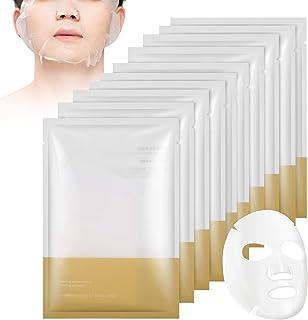 Moisturizing Mask for Men, Moisturizing Face Mask 10 Pack, Gebruikt om de poriën te verkleinen en de huid strakker te maken