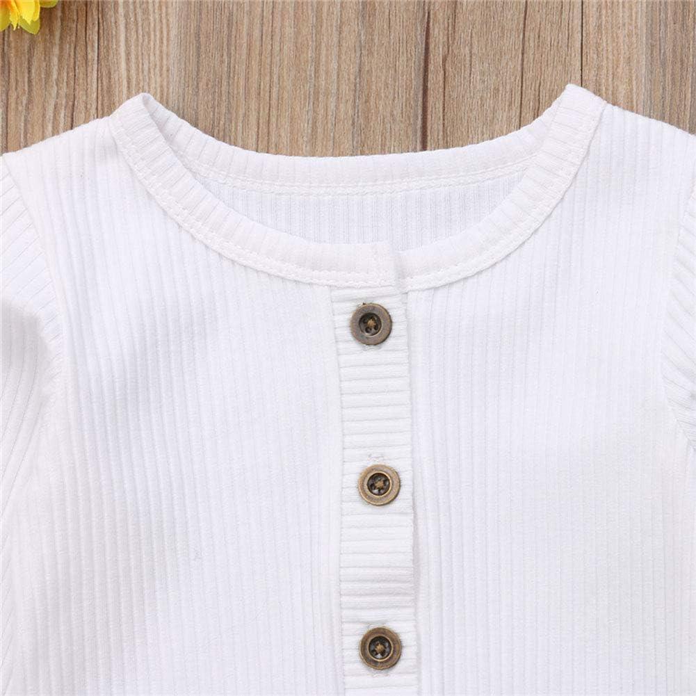 Loalirando Cardigan en tricot pour b/éb/é fille avec boutons