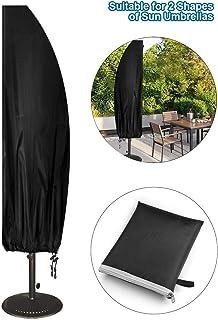 60H cm Hentex Premium Cover Protettiva in Tessuto Oxford 300d Impermeabile e Resistente ai Raggi UV per mobili da Giardino Adatto per ca 80L 80/W