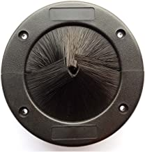 2 round brush grommet