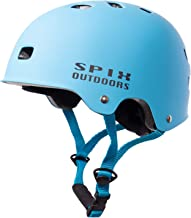 SPIX Skateboard Helmet, ASTM and CE Certified Multi-Sport Cycling Skate BMX Bike Helmet for Kids Youth and Adults