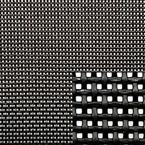 Siturep Textilene pro laufenden Meter, Breite 70 cm, Menge = laufender Meter Schwarz