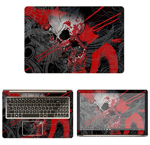 decalrus Protective Decal Skin Sticker for Asus VivoBook Pro 15-N580VD (15.6