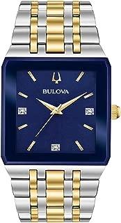 Bulova Men's Diamond Accent Two Tone Watch - 98D154