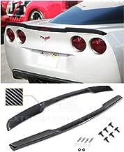 corvette c6 rear spoiler carbon fiber