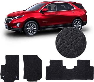 QianBao Front & Rear Nylon 4PC Car Floor Carpets Liner Floor Mat Fits Chevrolet Equinox 2018 2019