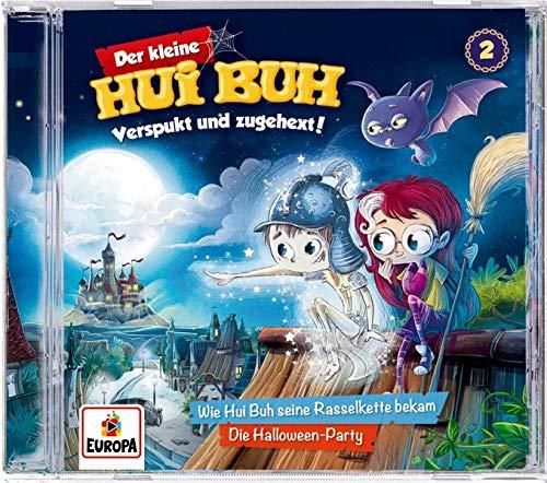 Der kleine Hui Buh (CD) Verspukt und zugehext! (Bd. 2): Wie Hui Buh seine Rasselkette bekam / Die Halloween-Party
