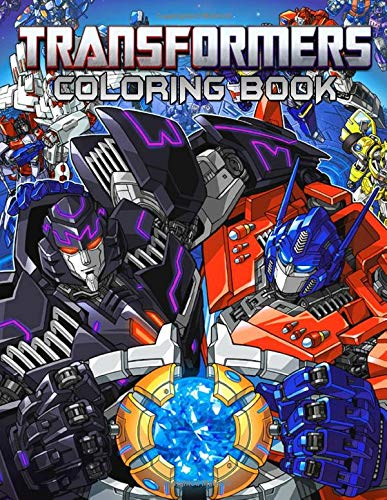Transformers Coloring Book: Great Books for Any Fans of Transformers with 50 Coloring Pages