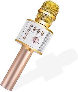 Ankuka Bluetooth Karaoke Microphone, 3 in 1 Multi-Function Handheld Wireless Karaoke..