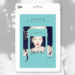 HYOMIN T-ARA TIARA - SKETCH [Kihno Album] Smart Music Card + Booklet + Postcard