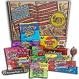 Heavenly Sweets American Caja de bocadillos y dulces 100% vegetariana - Juego de marcas clásicas de EE. UU., Deliciosos dulces, regalo perfecto para niños, adultos - Rellenos de Pascua - 20 dulces